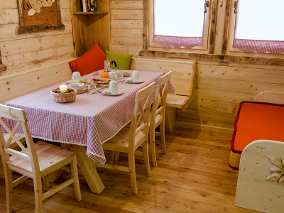 Chalet in legno - Area living
