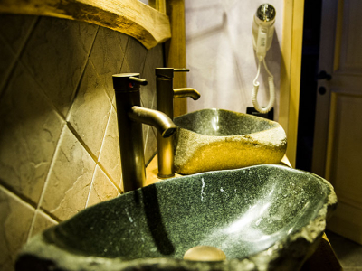 Chalet - Double stone wash basin