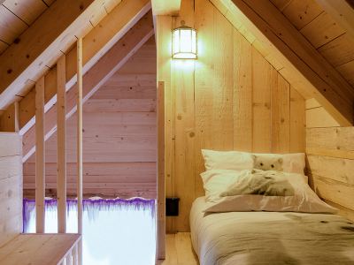 Wooden Chalets - Attic room
